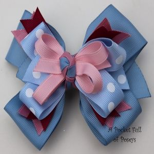Hair Bow Made to Match Gymboree La Belle Epoque